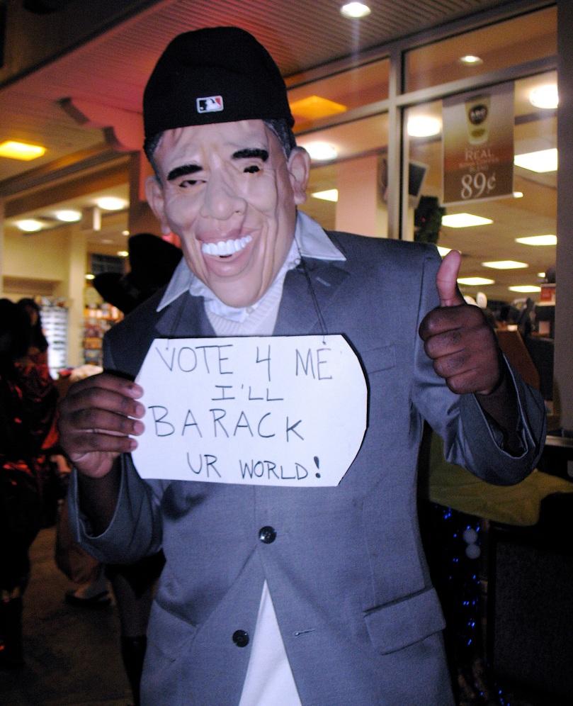 Barack Obama in Halloween