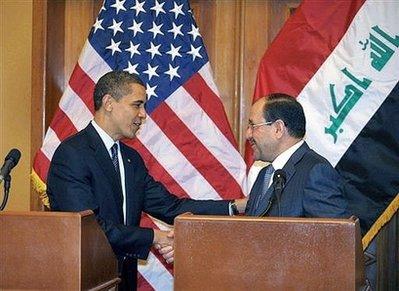 obama naouri al maliki