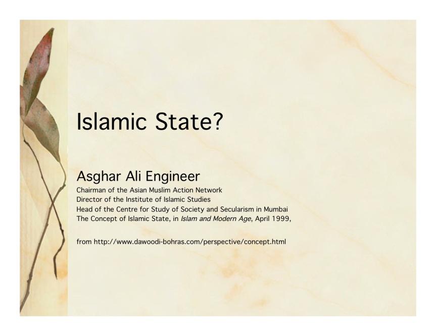 muslim state33