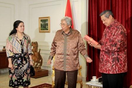 Puan, Taufik dan SBY