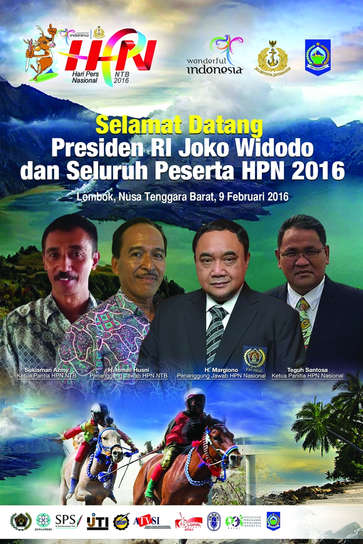 Baliho HPN 2016 - 4x6 Meter