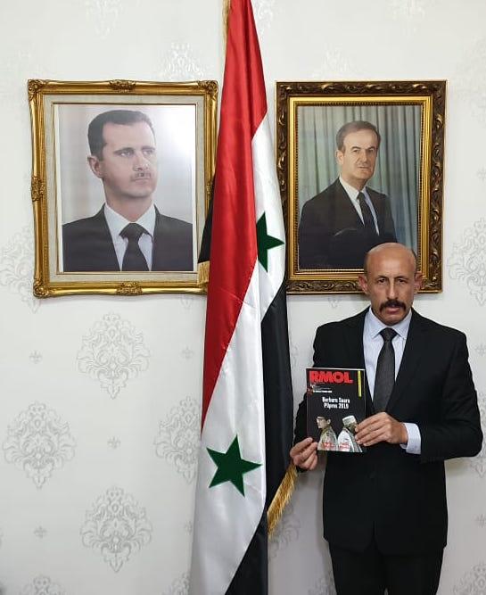 Dubes Suriah 20186